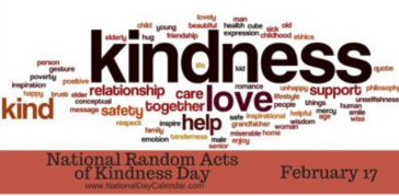 Poster for National Random Acts of Kindness Day