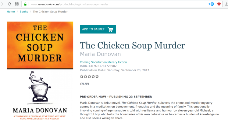 Seren Pre-order webpage