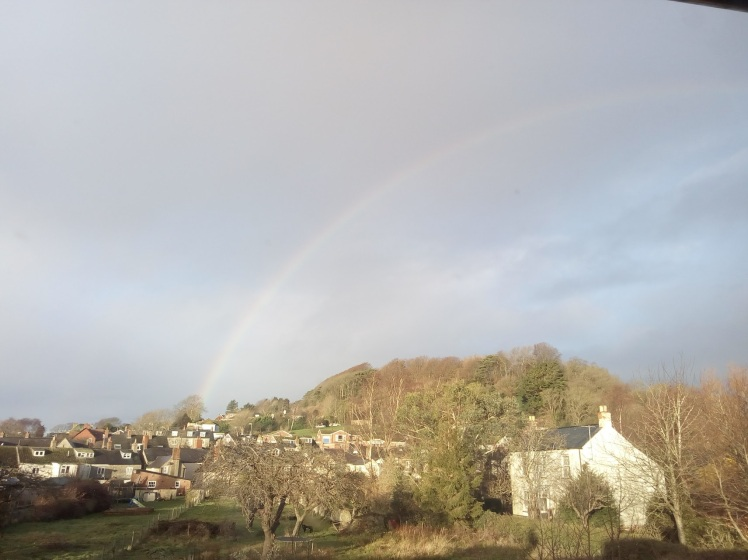 January rainbow