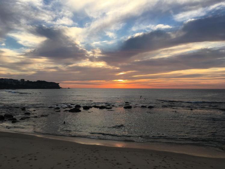 Sunrise, Bronte Beach, NSW, 8 May 2018