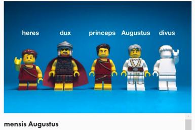 Legonium August
