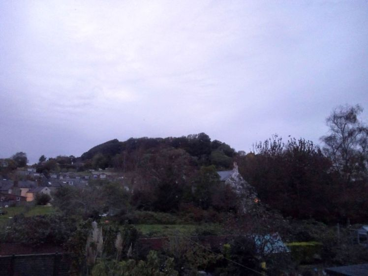 View of Allington Hill 29 October 2019