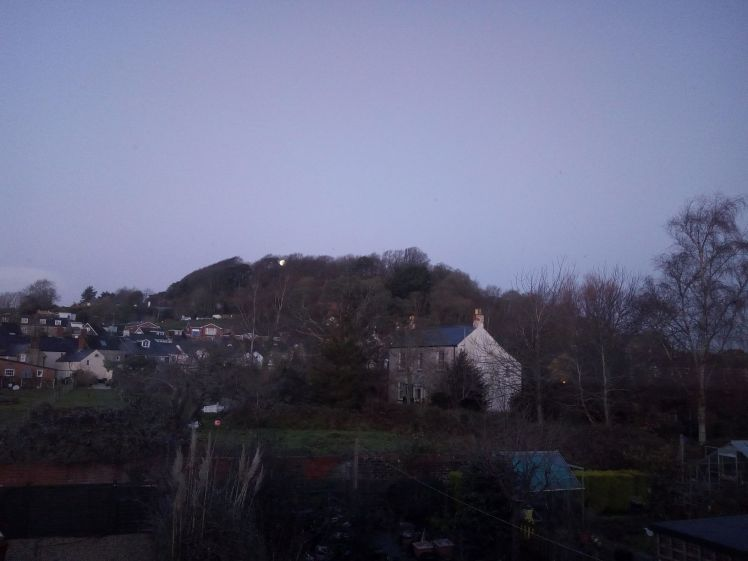 View of Allington Hill 13 December 2019