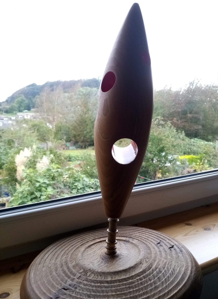 The Dorset Award Statue on my kitchen windowsill